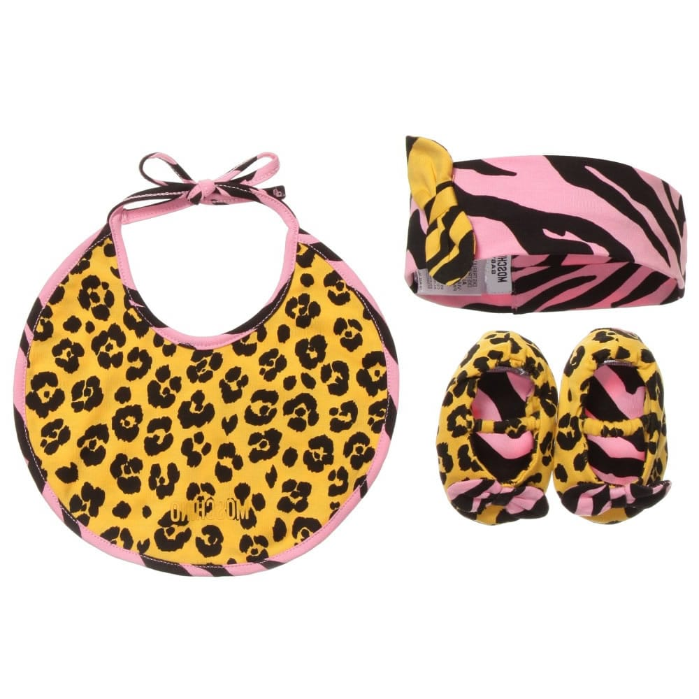 store new appearance so cheap MOSCHINO BABY Baby Girls Shoes, Bib & Headband in a Gift Box ...