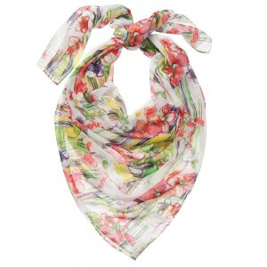 PARROT Girls Floral Chiffon Scarf (135cm)