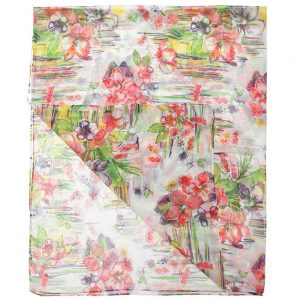 PARROT Girls Floral Chiffon Scarf (135cm)1