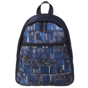 PAUL SMITH JUNIOR Boys Navy Blue Backpack Bag (31cm)