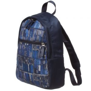PAUL SMITH JUNIOR Boys Navy Blue Backpack Bag (31cm)1