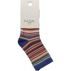 PAUL SMITH JUNIOR Cotton Signature Stripe Baby Socks1