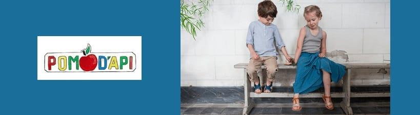 Pom D'Api children shoes