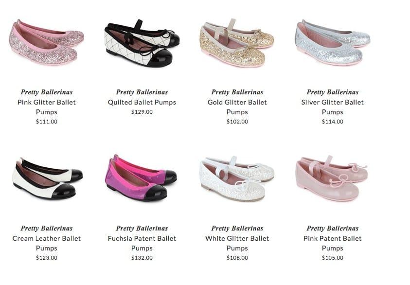 Pretty Ballerinas children shoes