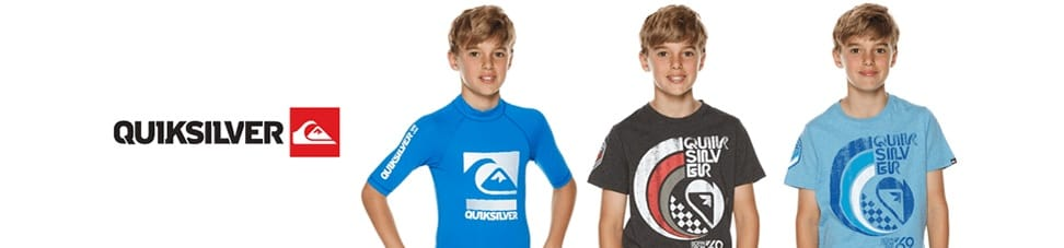 Quiksilver children clothing