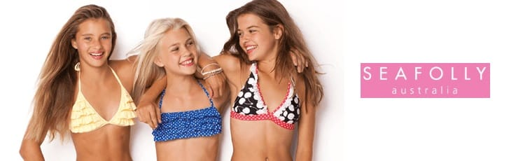 Seafolly beach wear for children