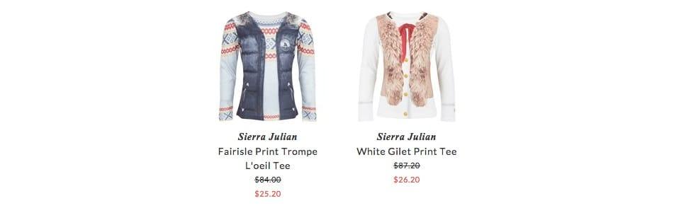 Sierra Julian children apparel