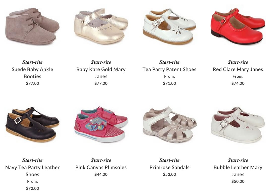 Start-rite kids shoes