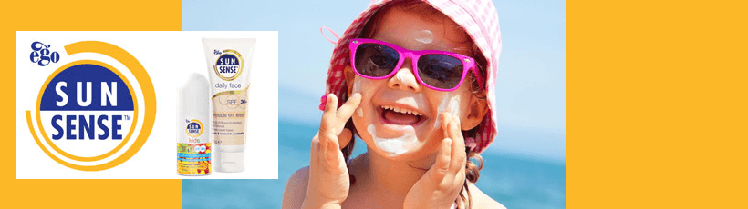 Sun Sense kids skin protection products