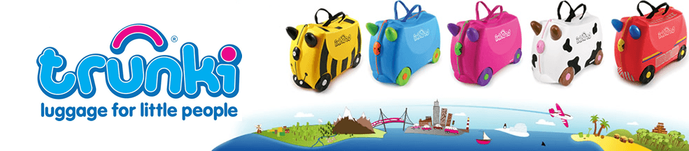 Trunki suitcases & other travel accessories for kids