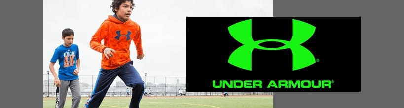 Under Armour kids sport clothing