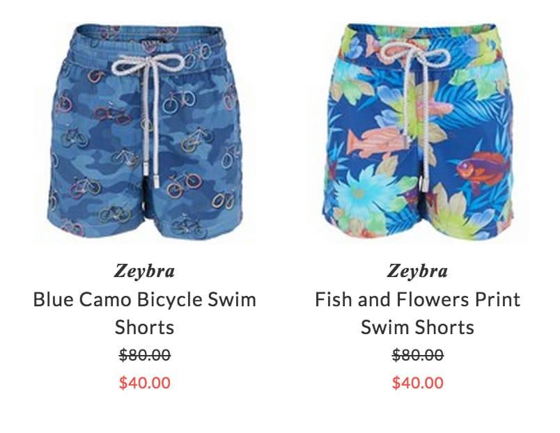 Zeybra children beachwear