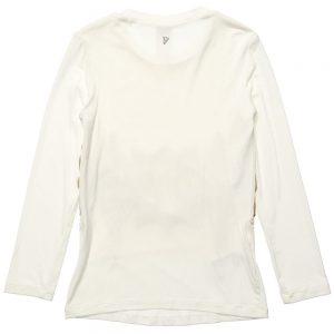 DONDUP Ivory Modal Girls Long Sleeved T-Shirt 1