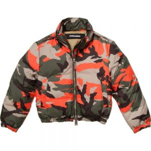 DSQUARED2 Boys Down Padded Camouflage Jacket