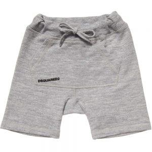 DSQUARED2 Boys Grey Jersey Bermuda Shorts