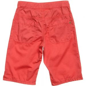 Fendi Boys Red 'FF' Logo Print Bermuda Shorts1