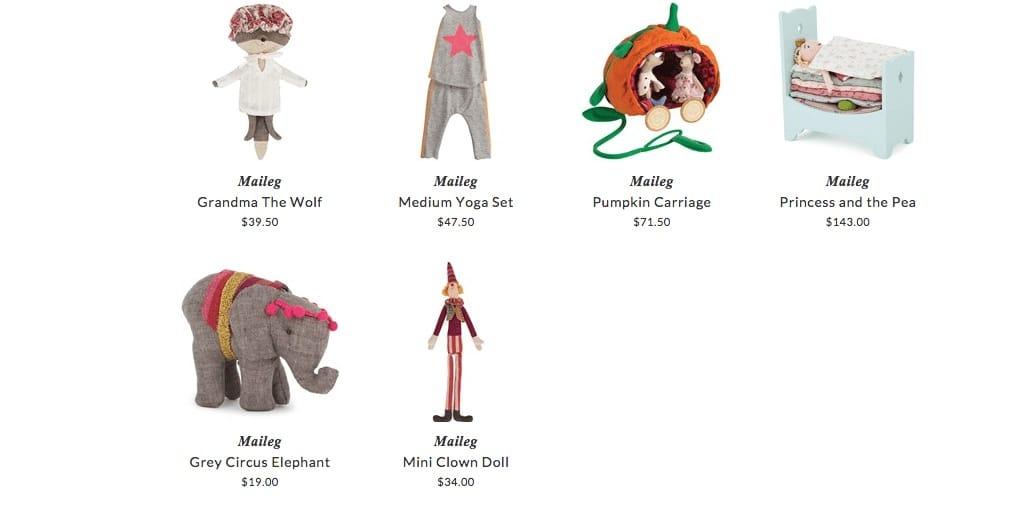 Maileg children toys