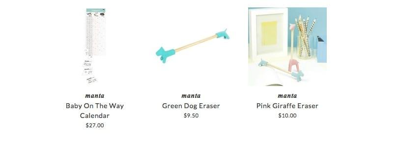 Manta accessories for children & babies