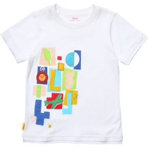 OILILY Abstract Letter Print 'To' T-Shirt