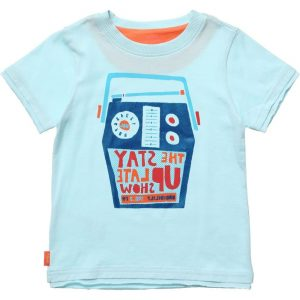 OILILY Boys Blue Cotton Jersey T-Shirt