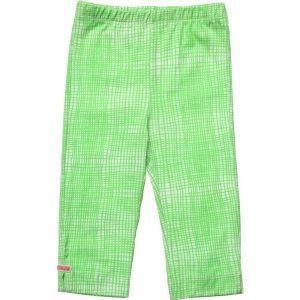 OILILY Green Check Cropped 'Tappy' Leggings