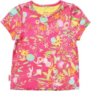 OILILY Pink Floral 'Titi' T-shirt