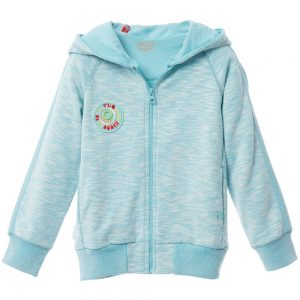 OILILY Turquoise Blue Zip-Up 'Hero' Topэ