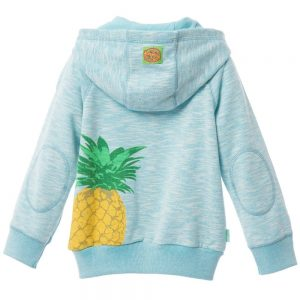 OILILY Turquoise Blue Zip-Up 'Hero' Top 1
