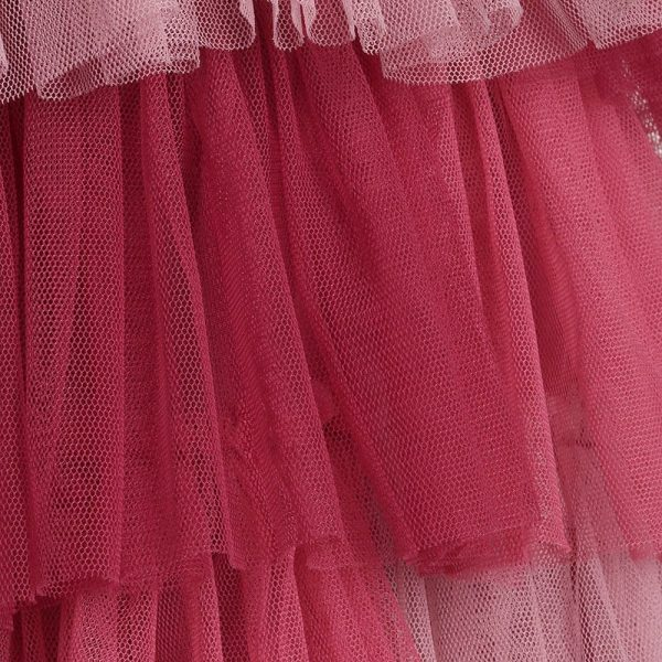 Quis Quis Pink Tulle Layered Dress2