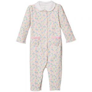Ralph Lauren Girls Floral Print Cotton Jersey Babygrow