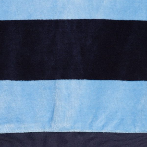 Ralph Lauren Baby Boys Blue Striped Velour Tracksuit3