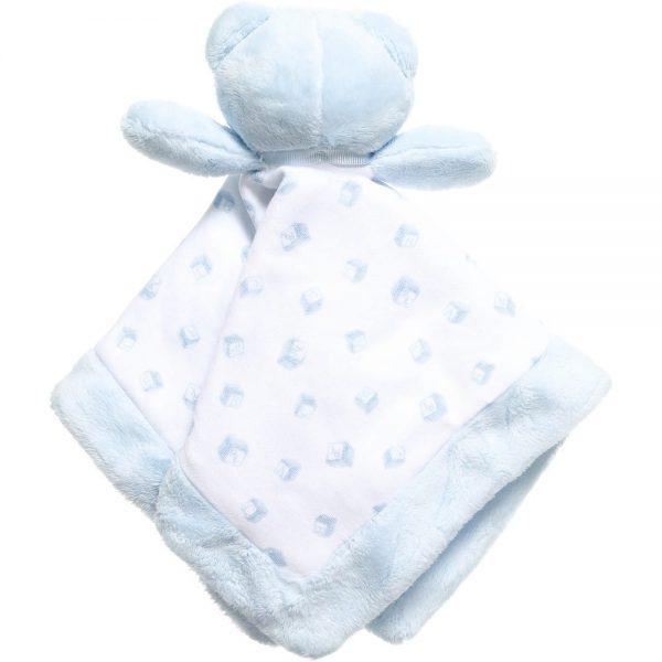 Ralph Lauren Baby Boys Pale Blue Bear Comforter (30cm)2