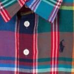 Ralph Lauren Girls Multicoloured Checked Cotton Blouse2