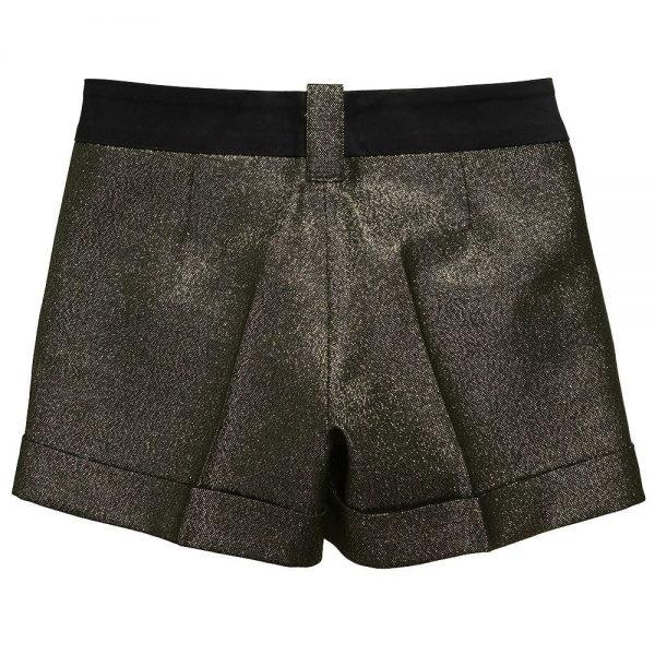 Richmond JR Girls Gold Shorts1