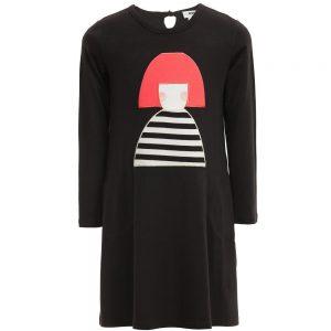 Sonia Rykiel Enfant Black Modal Jersey Dress