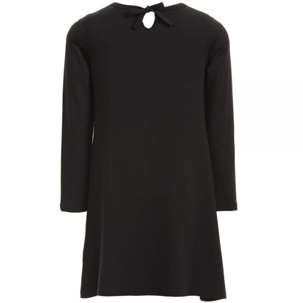 Sonia Rykiel Enfant Black Modal Jersey Dress1