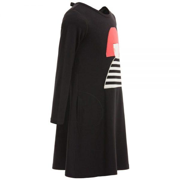 Sonia Rykiel Enfant Black Modal Jersey Dress2