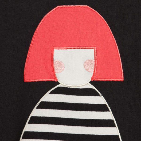 Sonia Rykiel Enfant Black Modal Jersey Dress3