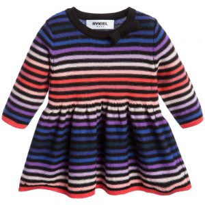 Sonia Rykiel Paris Baby Girls Fine Knit Signature Stripe Dress