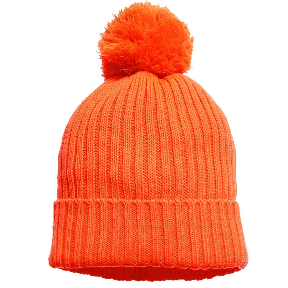 Stella Mccartney Kids Orange Tweedle Bobble Hat