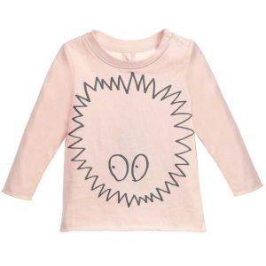 Stella Mccartney kids Girls Pink Long-Sleeved 'Georgie' T-Shirt