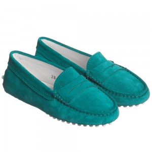 tods-green-suede-gommino-moccasins-1