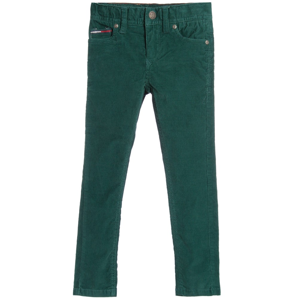 tommy-hilfiger-boys-green-cord-trousers-1