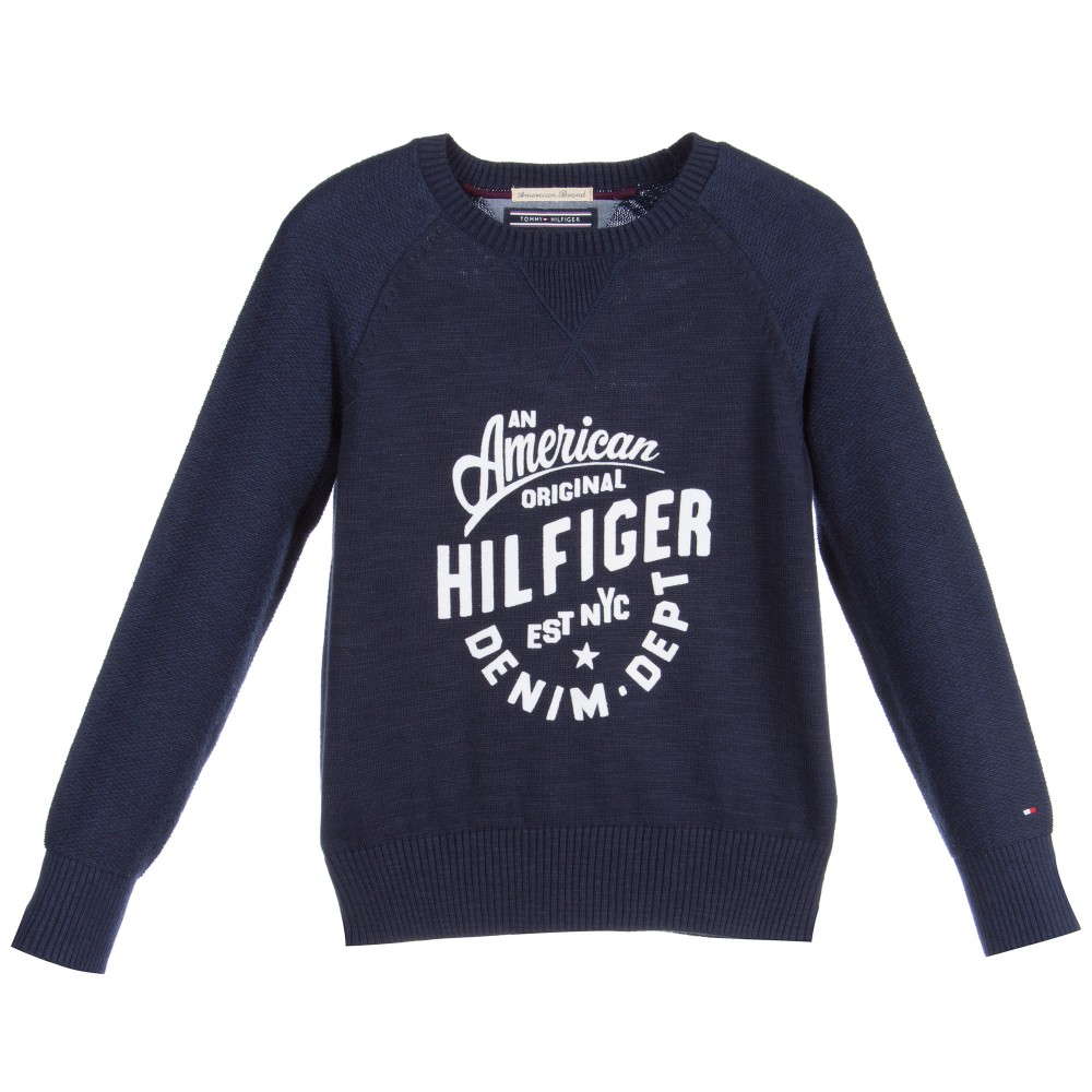 tommy-hilfiger-boys-navy-blue-cotton-knitted-sweater-1