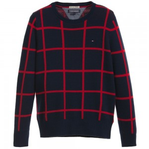 tommy-hilfiger-boys-navy-blue-sweater-1
