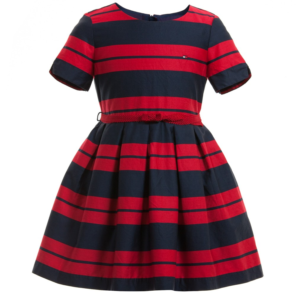 tommy-hilfiger-navy-blue-red-emy-stripe-dress-1