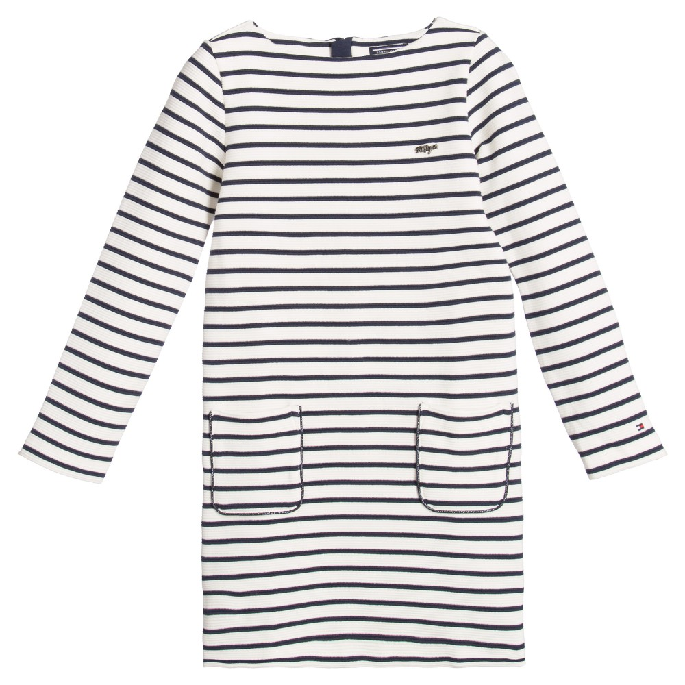 tommy-hilfiger-white-navy-blue-striped-miley-knit-dress-1
