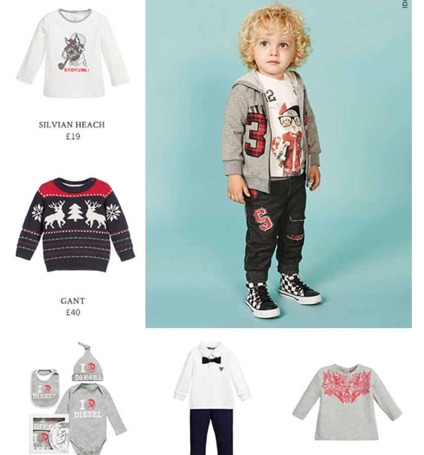 Baby Boys New Designers Look