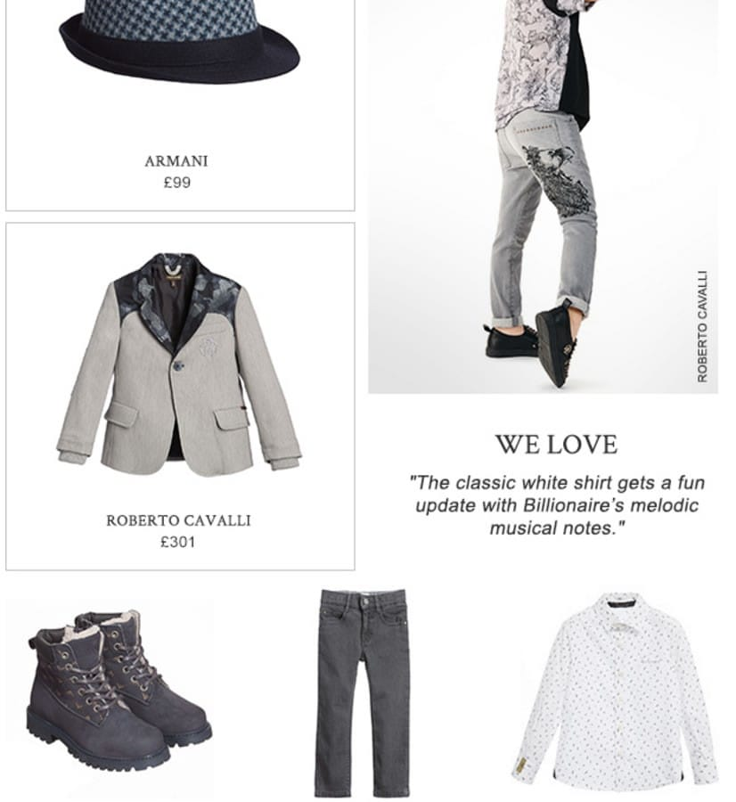 Boys Designers Outfit