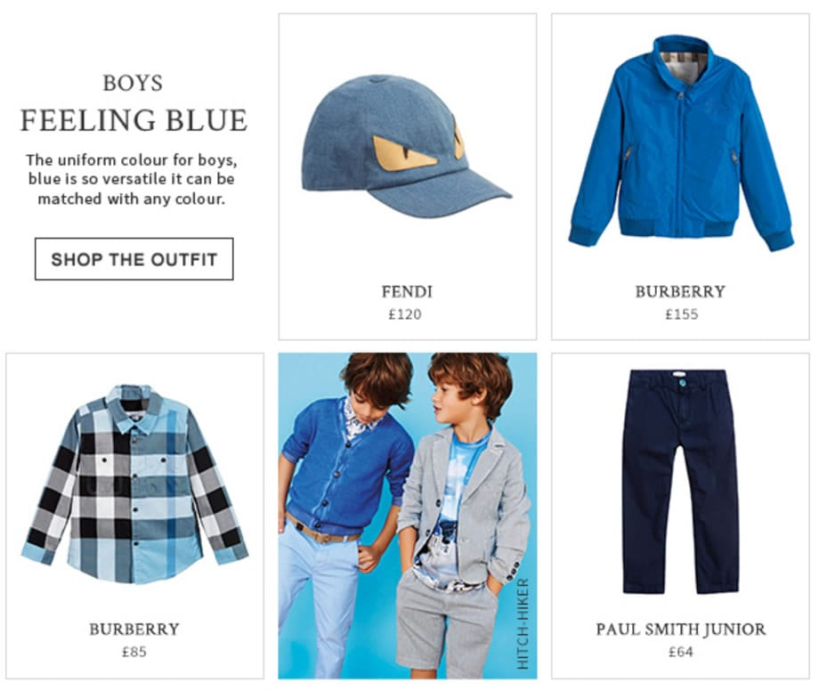 Boys Blue Colour Designers